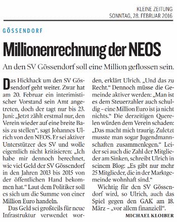 Kleine_Zeitung_2016_02_28_Millionenrechnung_der_NEOS_small