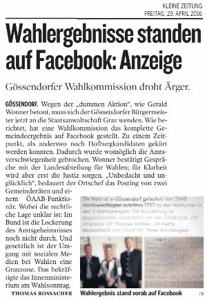Kleine_Zeitung_2016_04_29_Wahlergebnisse_standen_auf_Facebook_small
