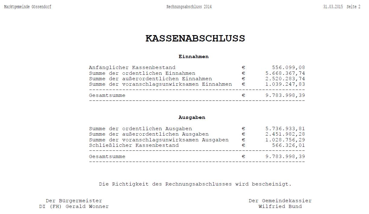 Kassenabschluss_Rechnungsabschluss2014