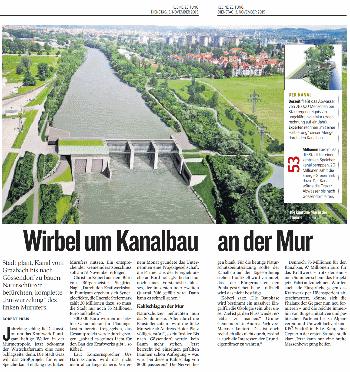 Kleine_Zeitung_2015_11_03_Wirbel_um_Kanalbau_an_der_Mur_small