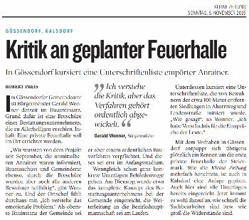 Kleine_Zeitung_2015_11_08_Kritik_an_geplanter_Feuerhalle_small