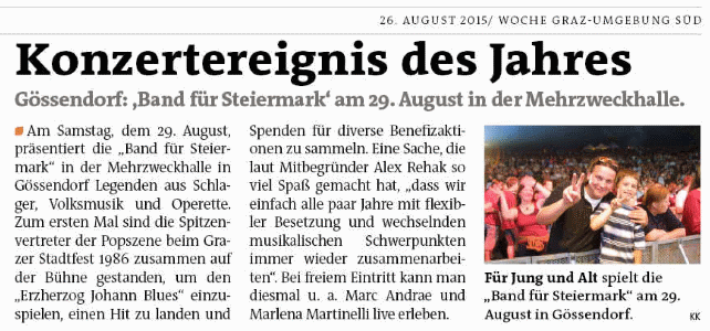 WocheGUSued_2015_08_26_Band_für_Steiermarks