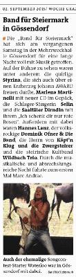 WocheGUSued_2015_09_02_Band_für_Steiermarks