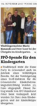 WocheGUSued_2015_11_04_FPÖ_Spendes