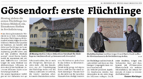 Woche_GUSued_2015_51_Gössendorf_erste_Flüchtlinge_small